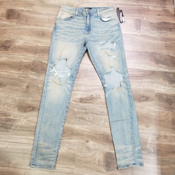 ab6c81ef Amiri Other - Amiri mens distressed jeans size 38
